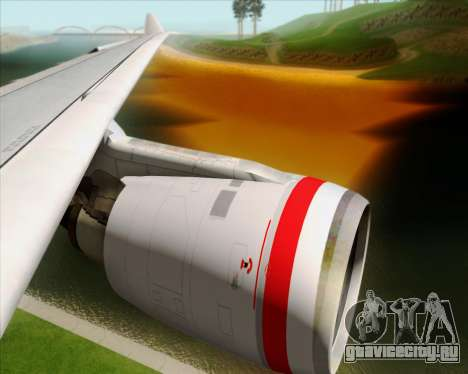 Airbus A330-200 Virgin Australia для GTA San Andreas салон