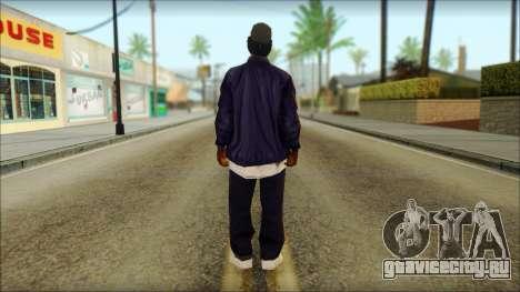 Eazy-E Blue v2 для GTA San Andreas второй скриншот