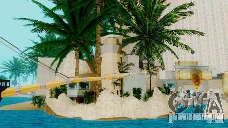 Новый пиратский корабль в Лас Вентурасе для GTA San Andreas второй скриншот