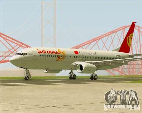 Boeing 737-89L Air China для GTA San Andreas вид справа