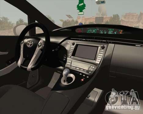 Toyota Prius для GTA San Andreas салон