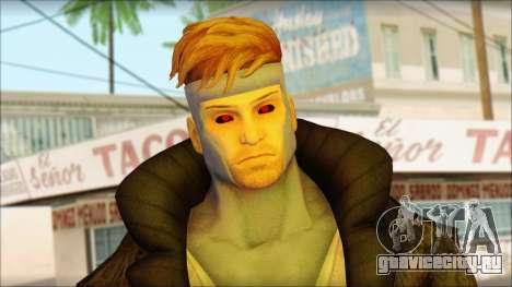 Gambit Deadpool The Game Cable для GTA San Andreas третий скриншот