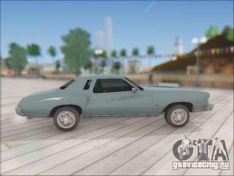 Chevrolet Monte Carlo 1973 для GTA San Andreas вид справа