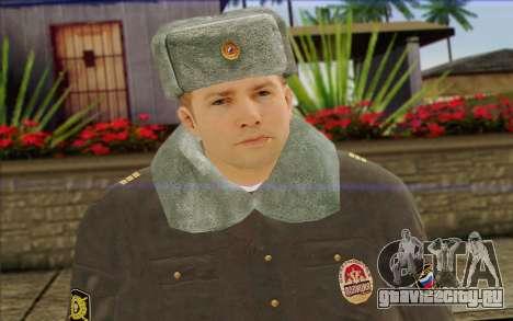 Полиция России Скин 4 для GTA San Andreas третий скриншот