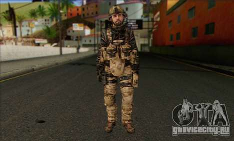 Task Force 141 (CoD: MW 2) Skin 14 для GTA San Andreas