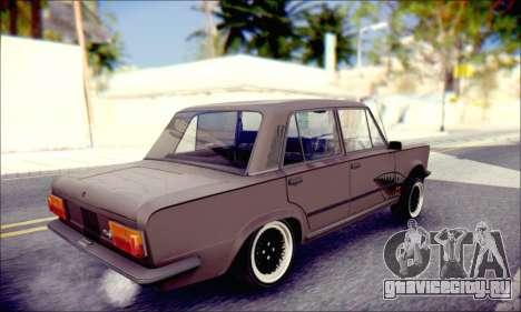 Fiat 125P Shark для GTA San Andreas вид слева