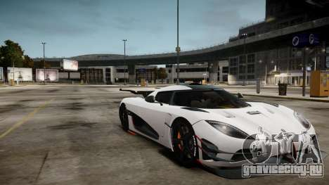 Koenigsegg Agera One:1 air core для GTA 4