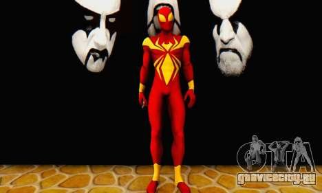 Skin The Amazing Spider Man 2 - DLC Iron Spider для GTA San Andreas второй скриншот