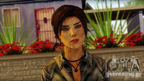 Tomb Raider Skin 3 2013 для GTA San Andreas третий скриншот
