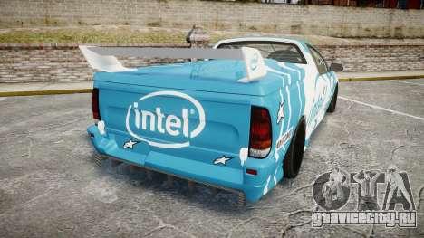 Ford Falcon XR8 Racing для GTA 4 вид сзади слева