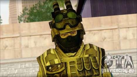 Солдат ЕС (AVA) v4 для GTA San Andreas третий скриншот