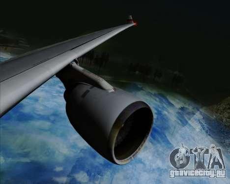 Airbus A330-300 Cathay Pacific для GTA San Andreas вид снизу