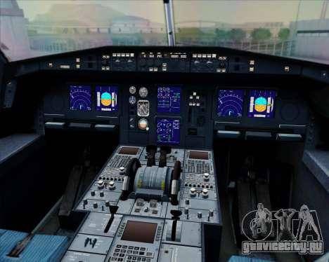 Airbus A330-300 Fly International для GTA San Andreas салон