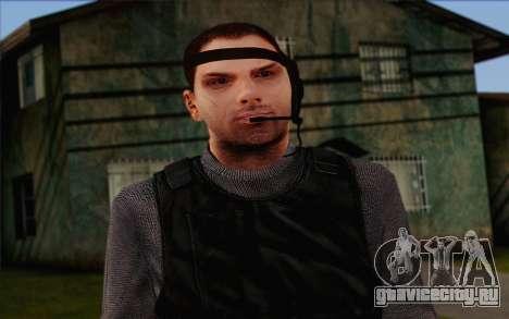 Reynolds from ArmA II: PMC для GTA San Andreas третий скриншот