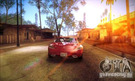 ENB Brandals v3 для GTA San Andreas третий скриншот