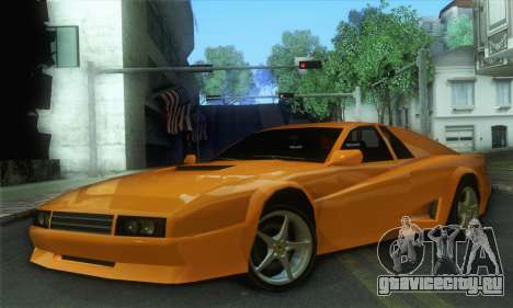 Cheetah Testarossa для GTA San Andreas