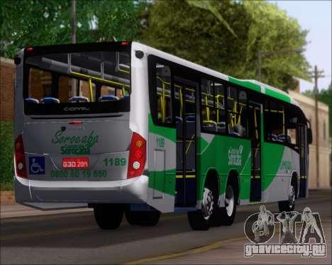 Comil Svelto BRT Scania K310IB 6x2 Sorocaba для GTA San Andreas колёса