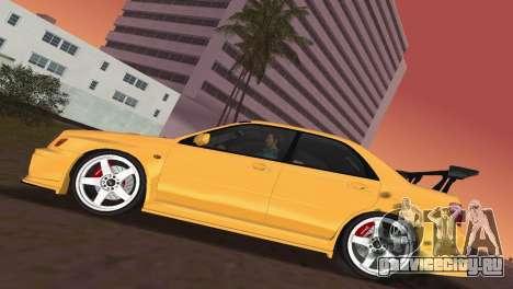 Subaru Impreza WRX 2002 Type 5 для GTA Vice City вид изнутри