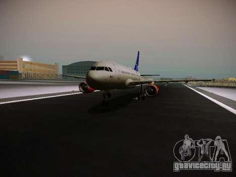 Airbus A319-132 Scandinavian Airlines для GTA San Andreas