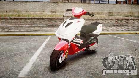Yamaha Aerox для GTA 4