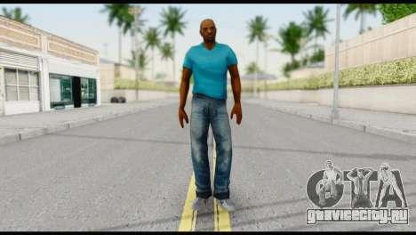 Blue Shirt Vic для GTA San Andreas