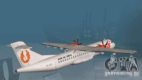 Indonesian Plane Wings Air для GTA San Andreas вид слева