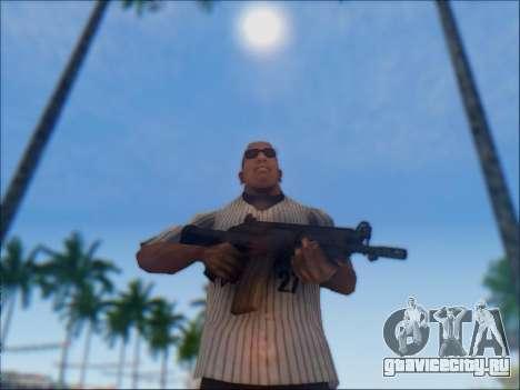 Израильский карабин ACE 21 для GTA San Andreas двенадцатый скриншот