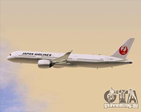 Airbus A350-941 Japan Airlines для GTA San Andreas вид сверху