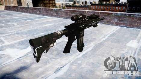 Автоматический карабин Colt M4A1 ghosts для GTA 4