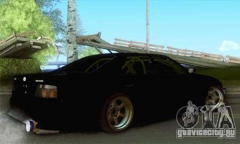 Toyota Chaser Drift 2JZ-GTE для GTA San Andreas вид слева