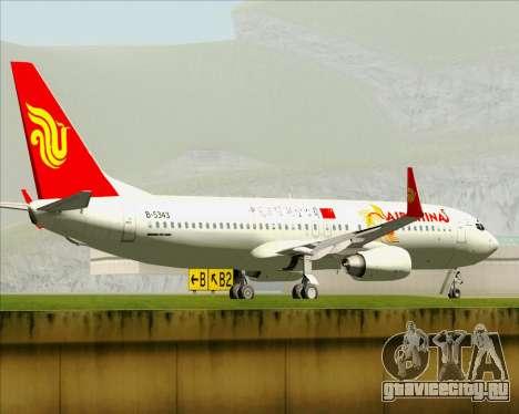 Boeing 737-89L Air China для GTA San Andreas колёса