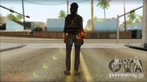 Tomb Raider Skin 3 2013 для GTA San Andreas второй скриншот