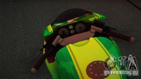 Bati RR 801 Sprunk для GTA San Andreas вид сзади слева