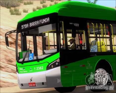 Caio Induscar Millennium BRT Viacao Gato Preto для GTA San Andreas вид сбоку