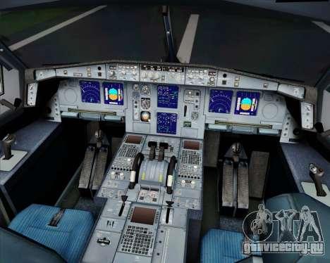 Airbus A340-313 SriLankan Airlines для GTA San Andreas вид сверху