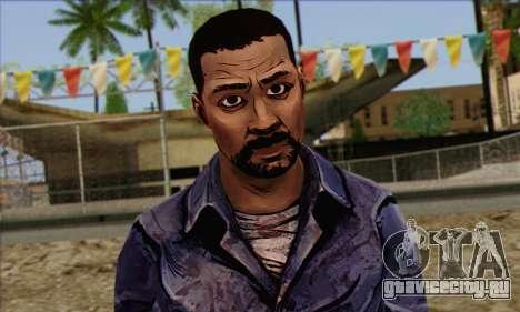 Lee from Walking Dead для GTA San Andreas третий скриншот