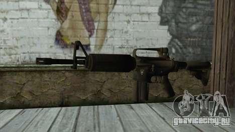 TheCrazyGamer M16A2 для GTA San Andreas