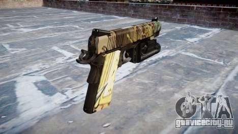 Пистолет Kimber 1911 Ronin для GTA 4 второй скриншот