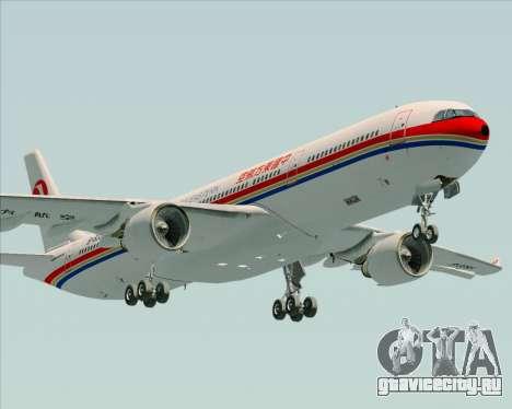 Airbus A330-300 China Eastern Airlines для GTA San Andreas вид изнутри