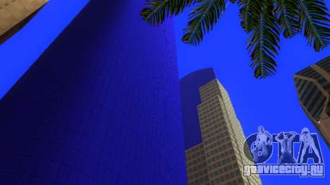 HD текстуры четырех небоcкребов в Лос Сантос для GTA San Andreas четвёртый скриншот