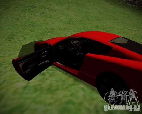 F620 from GTA V для GTA San Andreas вид сзади слева