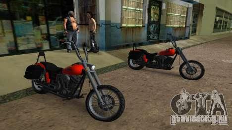 WMC Angel для GTA Vice City вид сзади слева