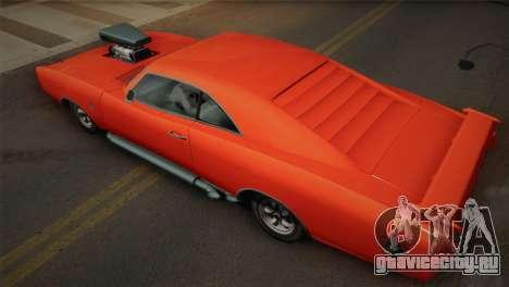 GTA 4 Dukes Tunable для GTA San Andreas вид сверху