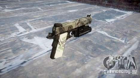 Пистолет Kimber 1911 Benjamins для GTA 4 второй скриншот
