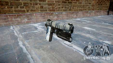 Пистолет Kimber 1911 Skulls для GTA 4