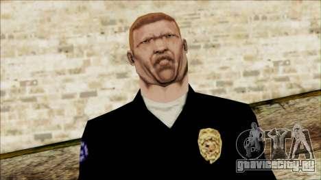 Офицер Карвер из Cutscene для GTA San Andreas третий скриншот