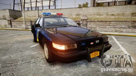 Vapid Police Cruiser LSPD Generation [ELS] для GTA 4