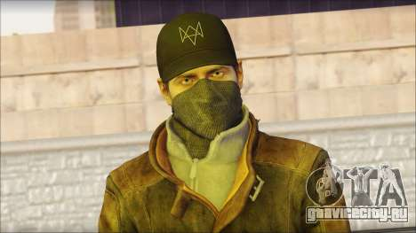 Aiden Pearce from Watch Dogs для GTA San Andreas третий скриншот