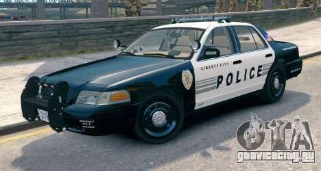 Ford Crown Victoria LCPD [ELS] Pushbar для GTA 4