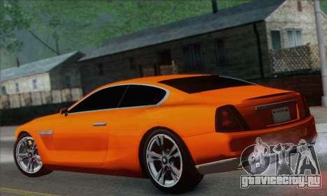 Alpha - DLC Business GTA V для GTA San Andreas вид слева